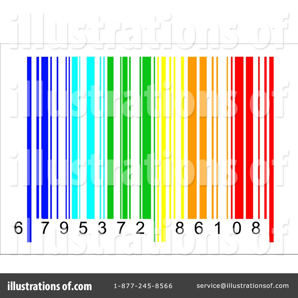 Barcode clipart royalty free. Illustration by david barnard