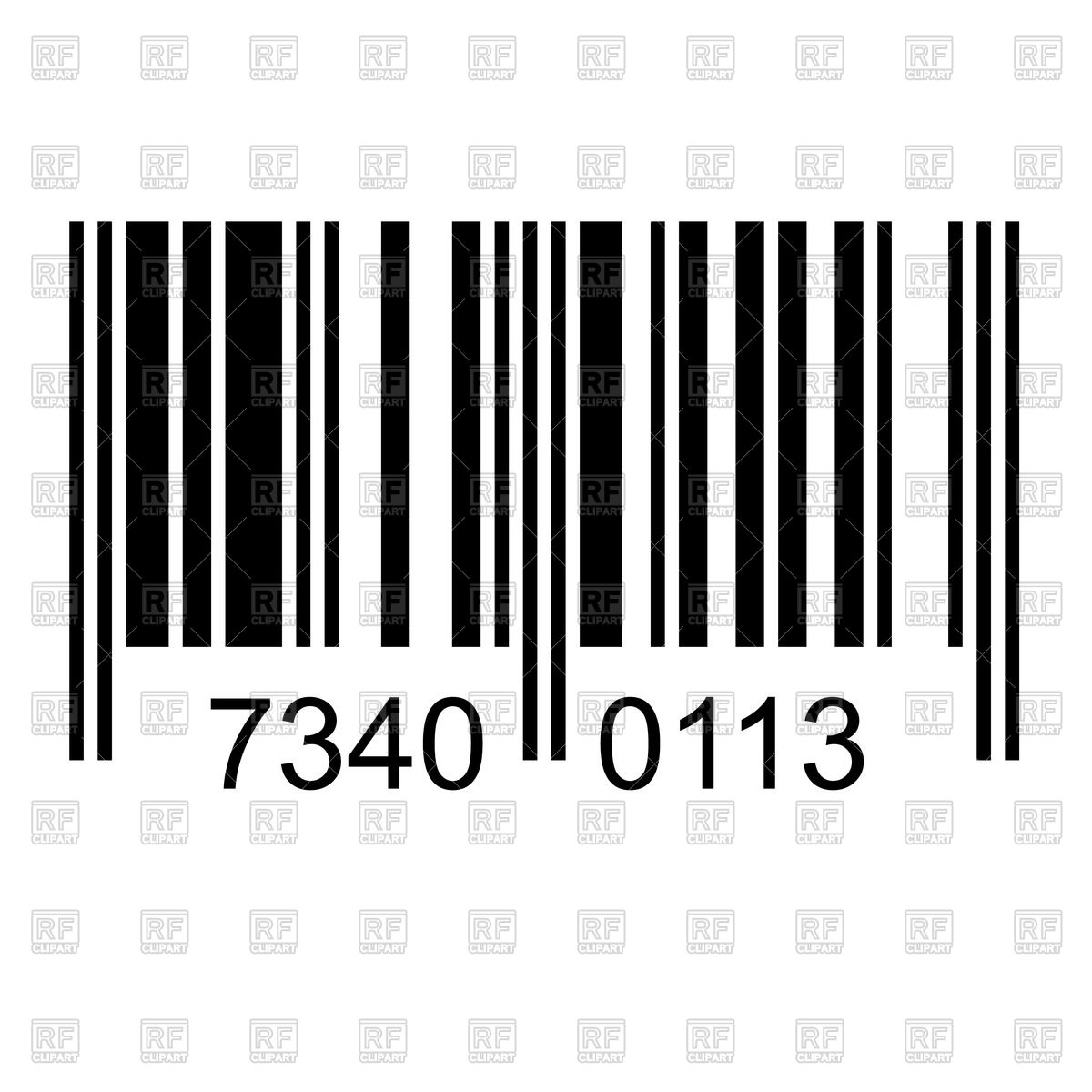 Download best on . Barcode clipart royalty free