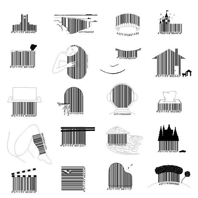best barcodes love. Barcode clipart snack