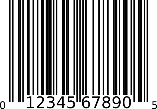 Barcode clipart transparent. Pencil and in color