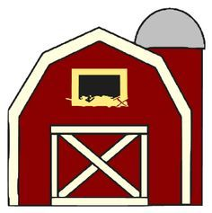 Farmer clip art free. Clipart barn