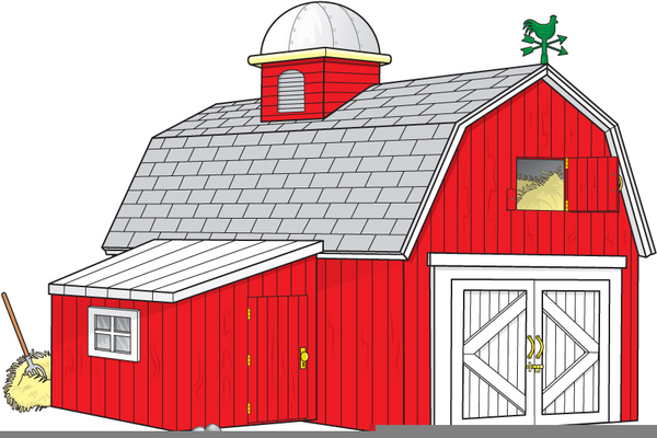 Barn clipart. Animals free images at