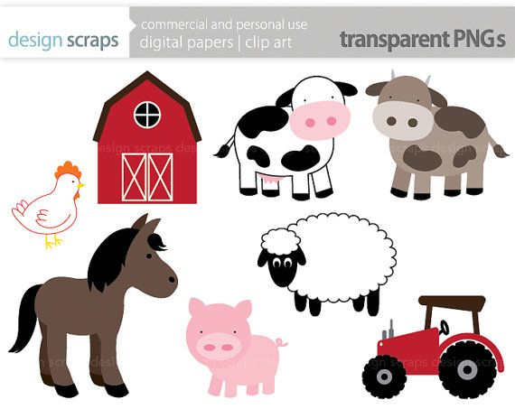 Clip art graphics pig. Barn clipart animal farm