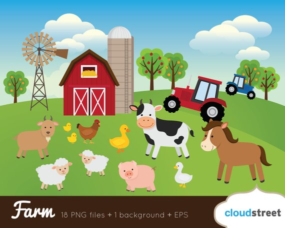 Barn clipart animal farm. Buy get free barnyard