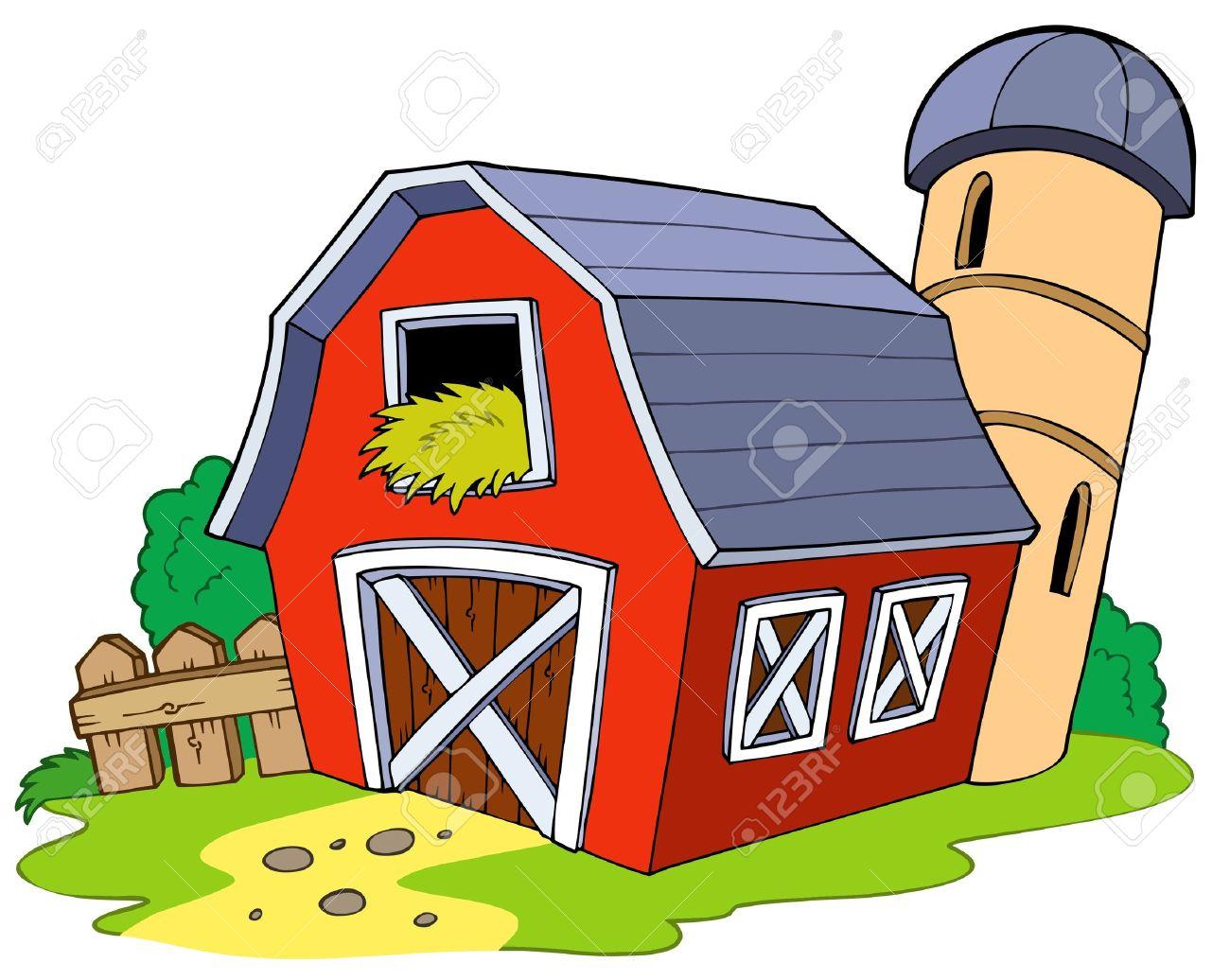 Barn clipart animated.  cool farm house