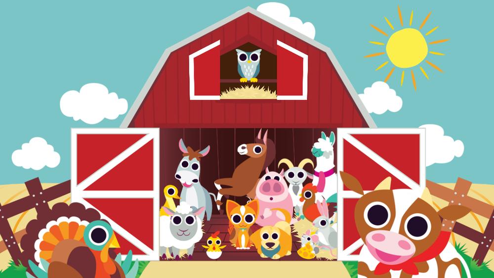 Barn clipart animated. Peekaboo re hatching night