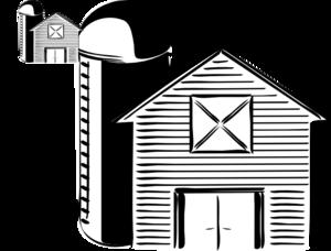 And clip art at. Barn clipart barn silo
