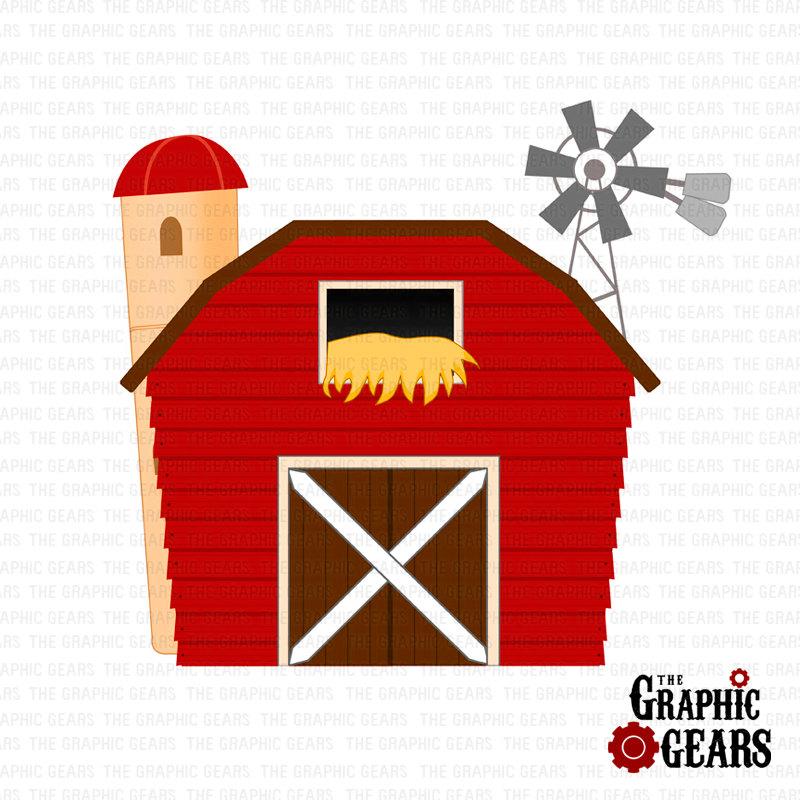 Farmhouse clipart barnhouse. Best of red barn