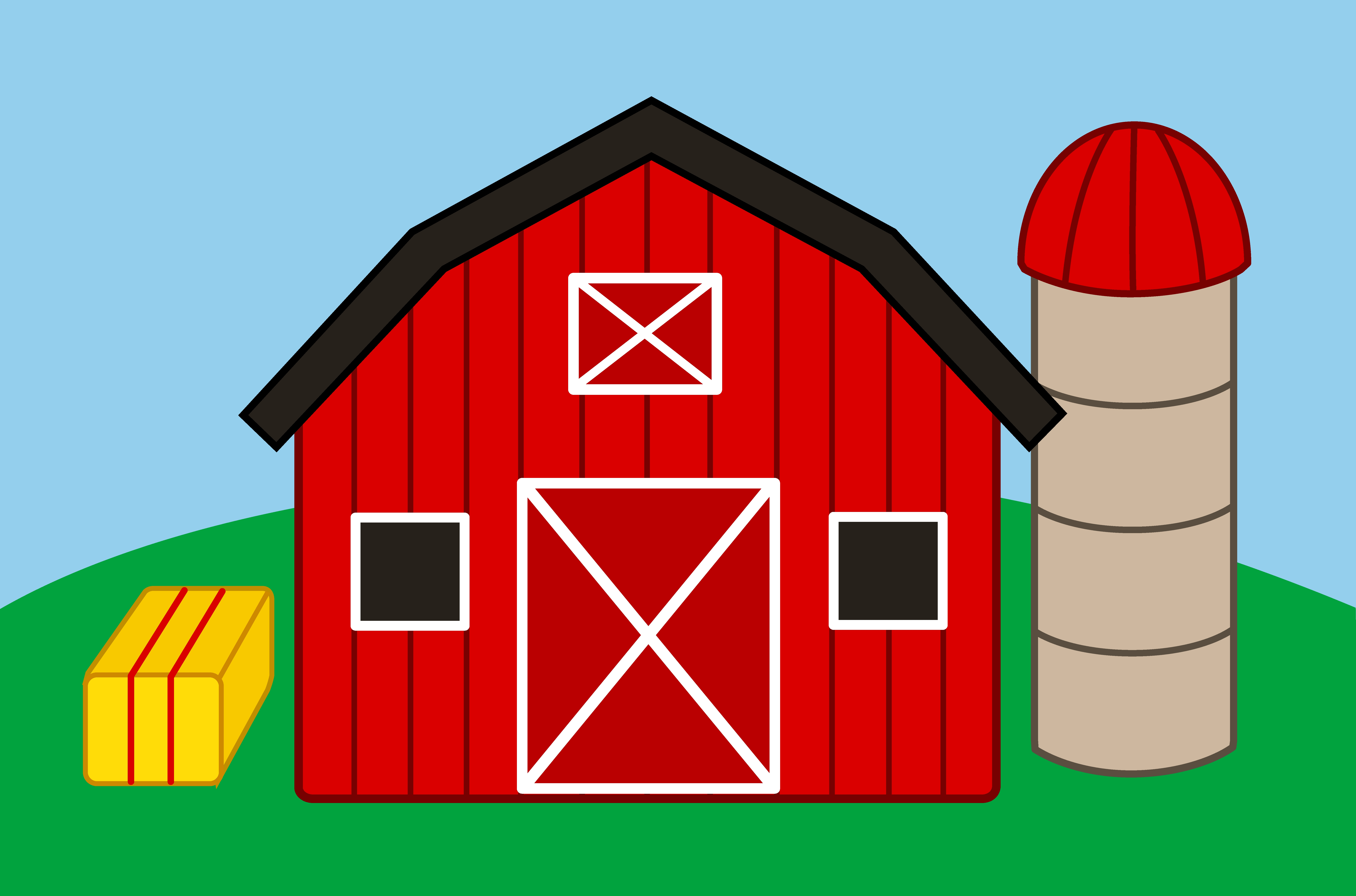 Barn clipart basic. Best of farm design
