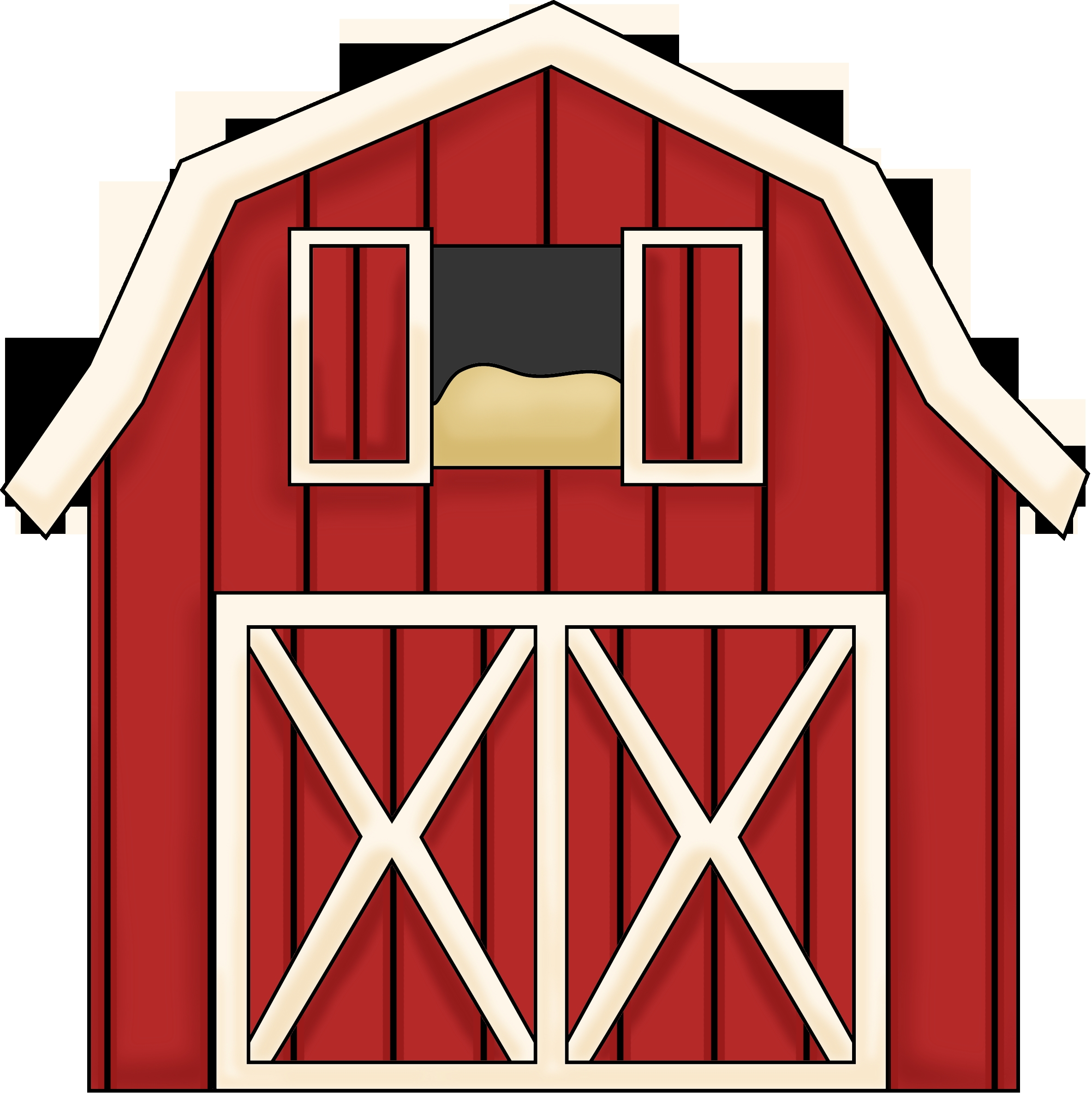 New gallery digital collection. Barn clipart basic