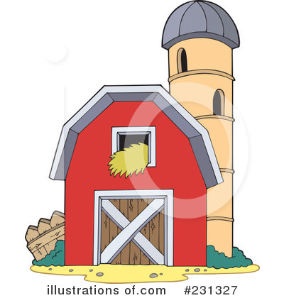 Barn clipart basic. Illustration by visekart royaltyfree
