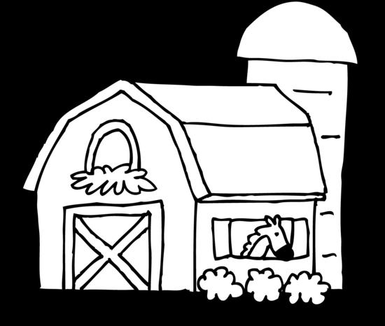Barn clipart black and white. Danaspad top clipartix