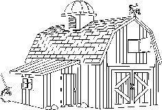 Barn clipart black and white. Google search centennial ref