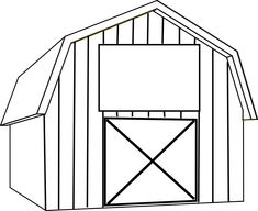 Clip art christian coloring. Barn clipart black and white