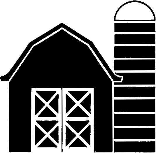 Outline danaspad top png. Barn clipart black and white