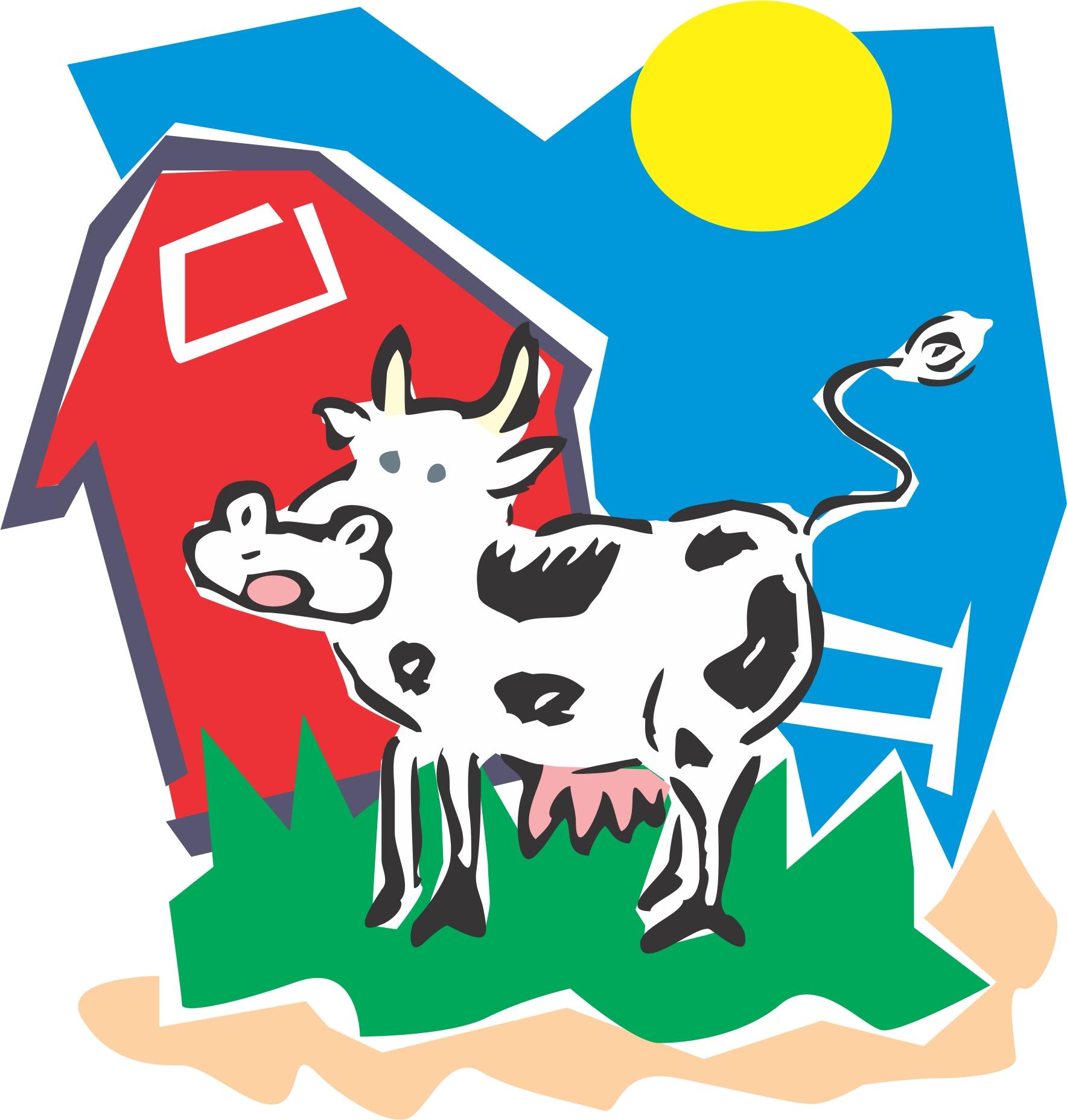 Barn clipart cartoon. Free clip art on