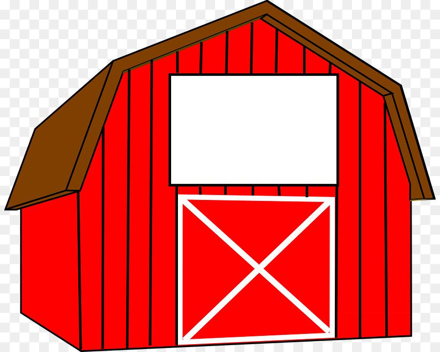 Barn clipart cartoon. House red line transparent