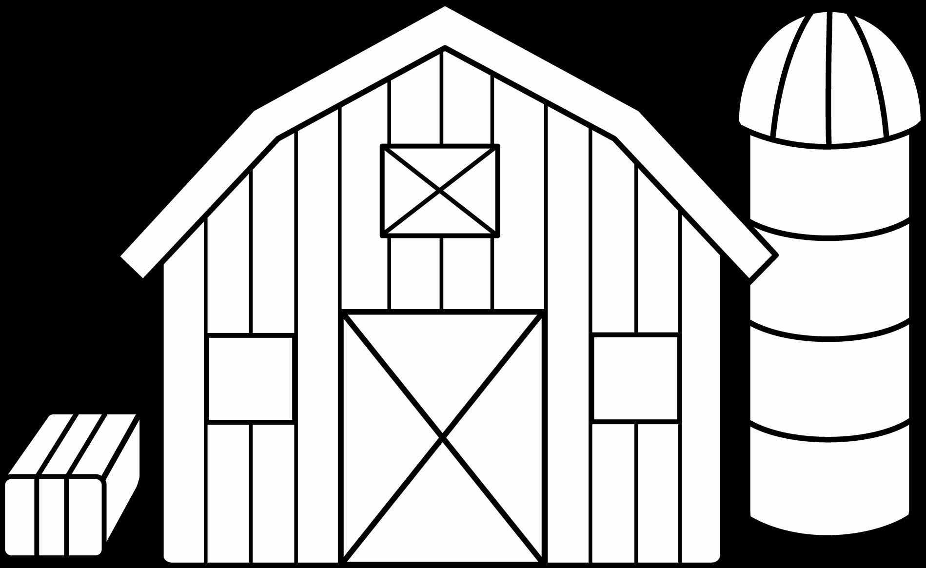 The images collection of. Barn clipart color