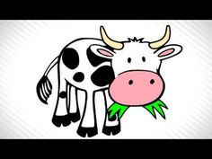 With black spots will. Barn clipart cow