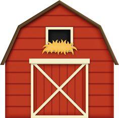 Farmer clip art free. Barn clipart cute