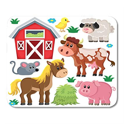 Amazon com nakamela mouse. Barn clipart cute