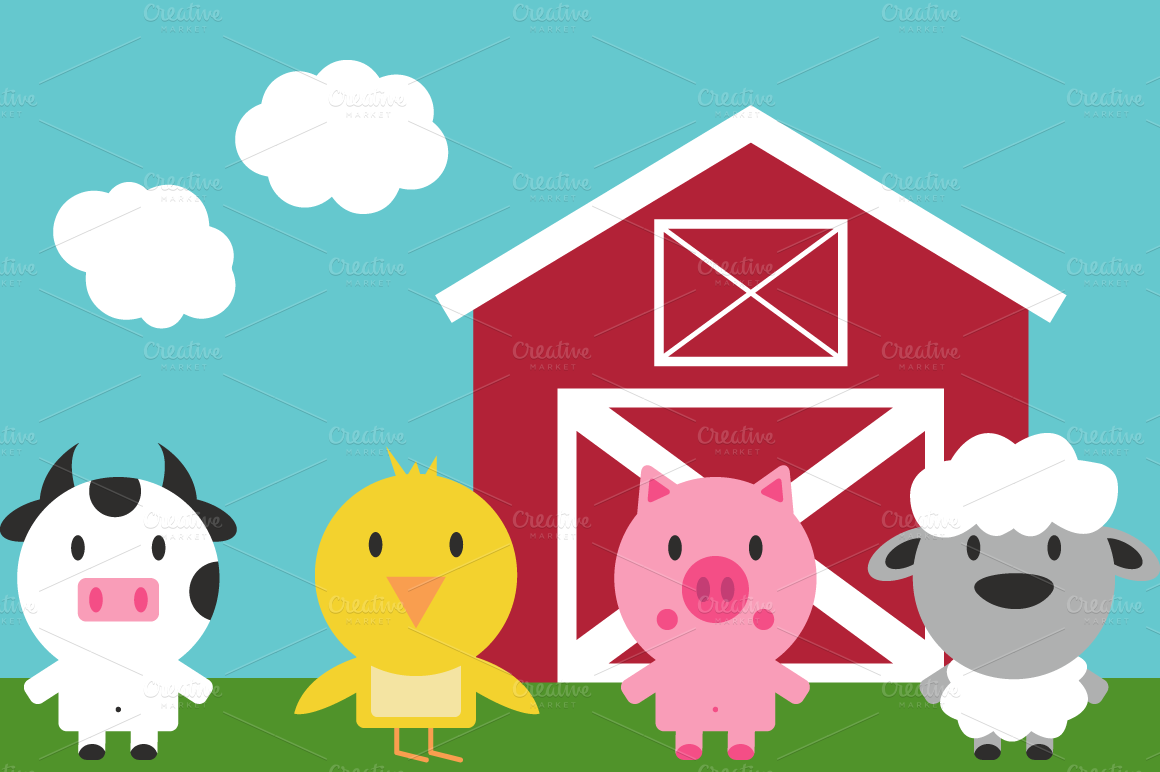 Cliparts free download clip. Barn clipart cute
