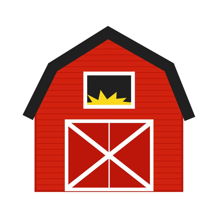 Farmhouse clipart cute. Free barn download clip