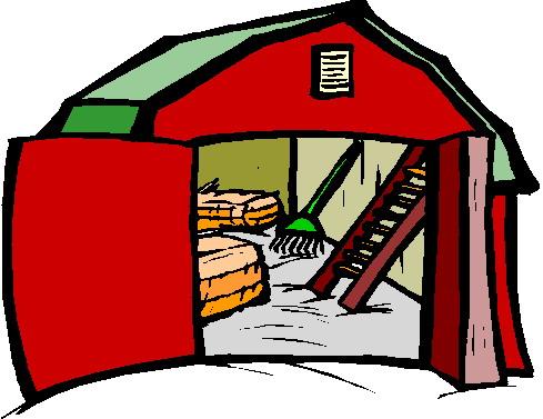 Farmhouse clipart farm house.  clip art barn