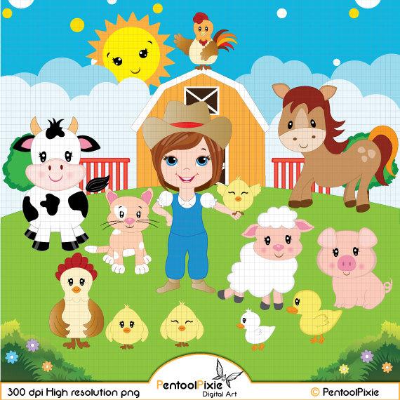 Body clipart farmer. Farm animals farmyard barn