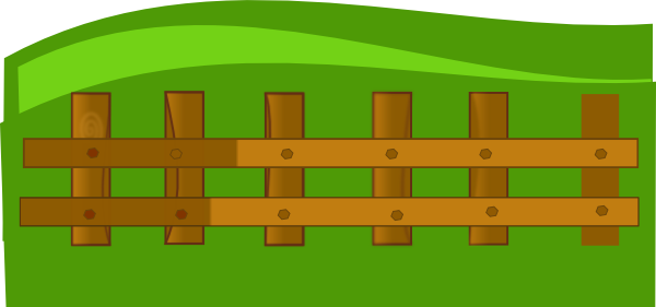 Fence clipart farming. Free cliparts download clip