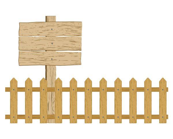 Barn clipart fence. Free vector cartoon clip