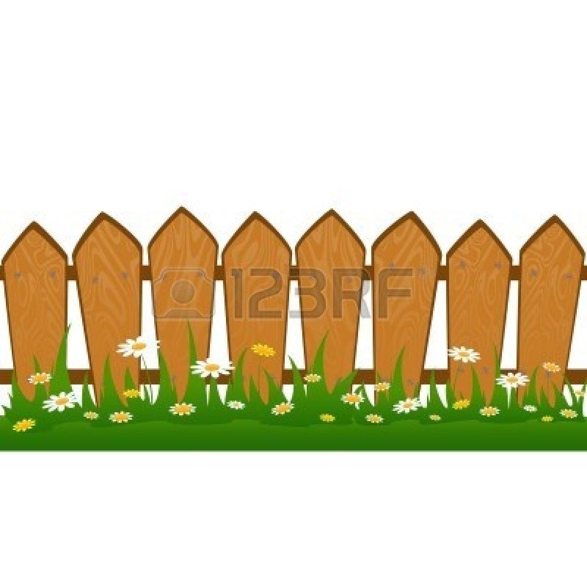 Clip art borders panda. Barn clipart fence