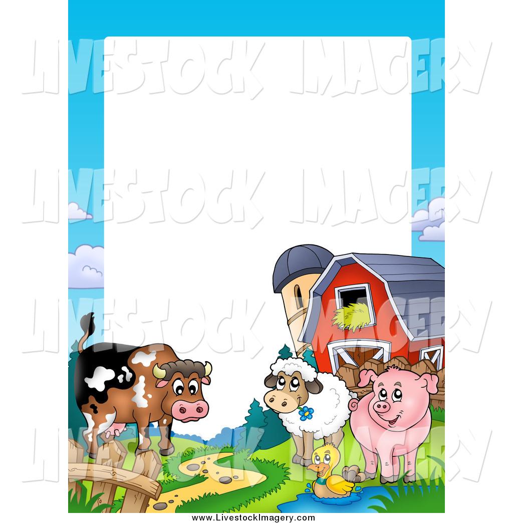 Barn clipart frame. Clip art of a