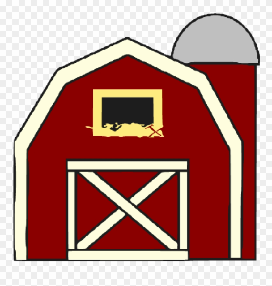 Clipart barn barn door. Free at getdrawings red