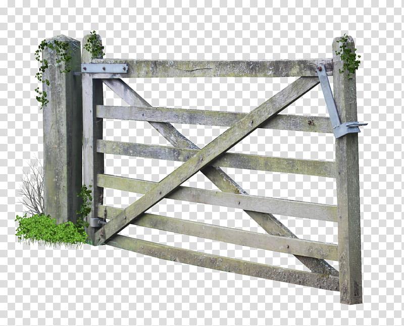Wooden farm grey transparent. Barn clipart gate