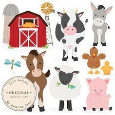Body clipart farmer. Farm animal free printables