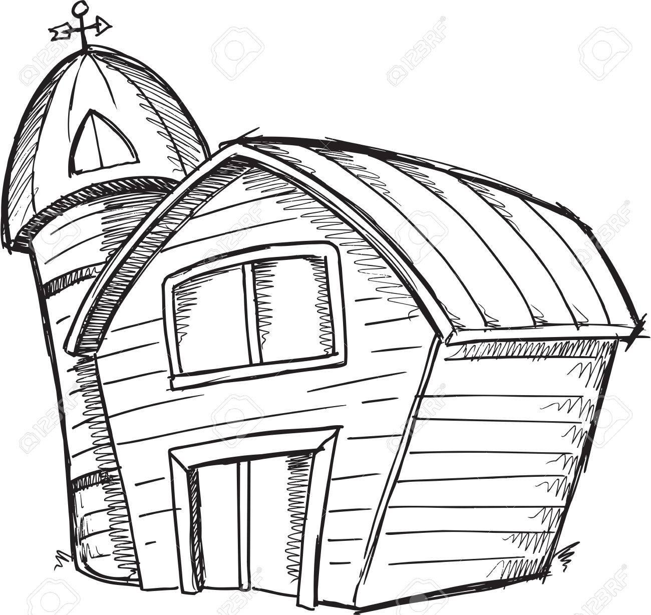 Barn clipart old barn. Drawing at getdrawings com