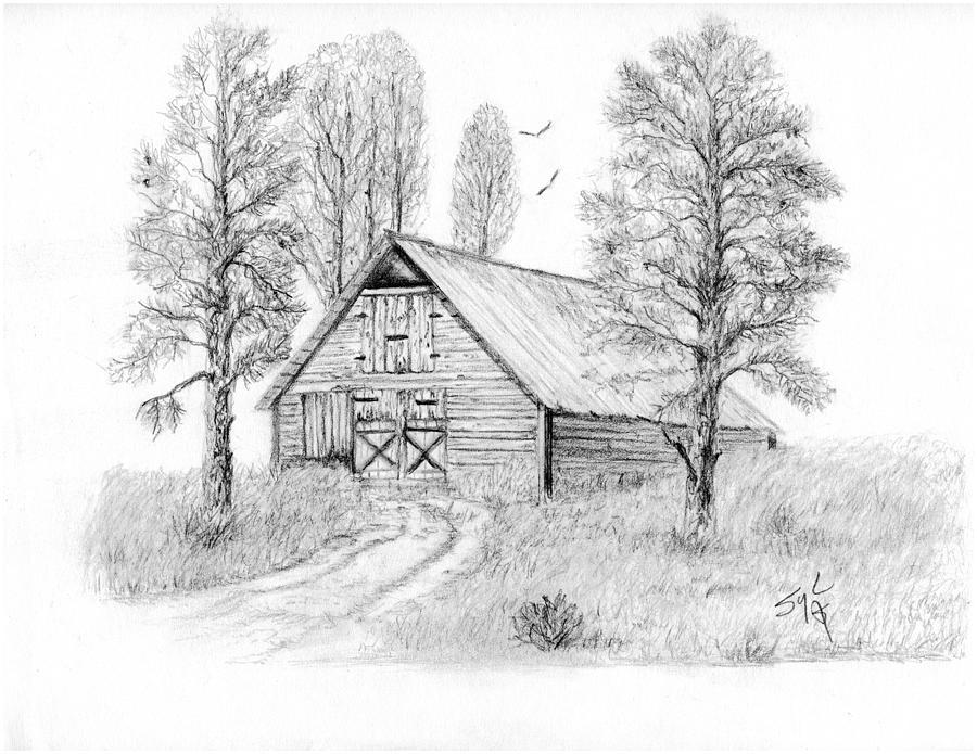 Barn clipart old barn. Country barns