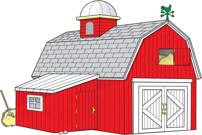 Farmhouse clipart preschool. Free old barn cliparts