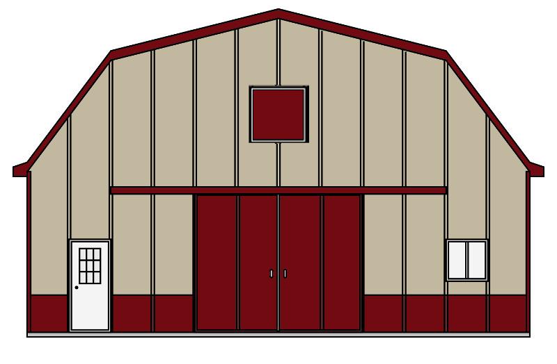 Barn clipart pole barn. Kits building packages apb