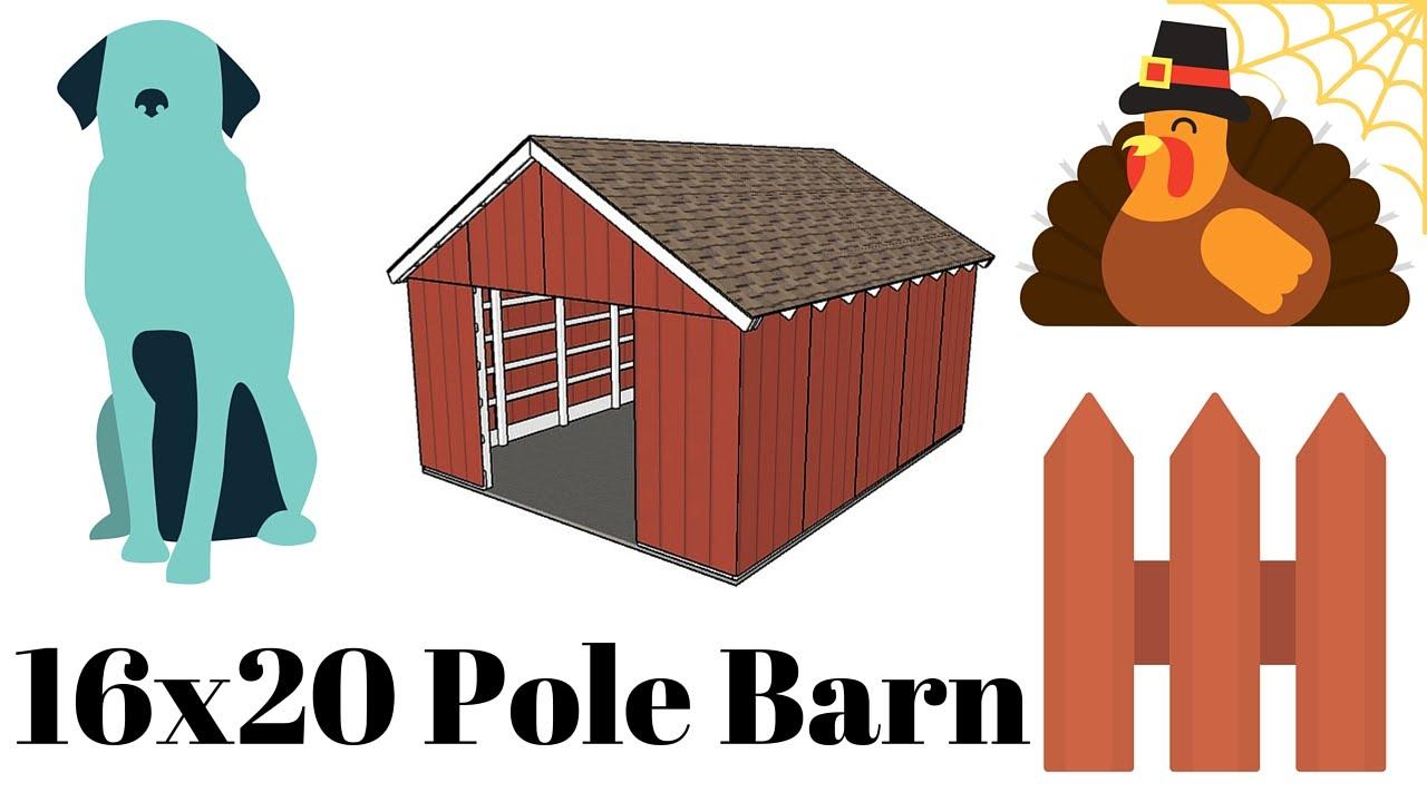 Barn clipart pole barn. Plans youtube