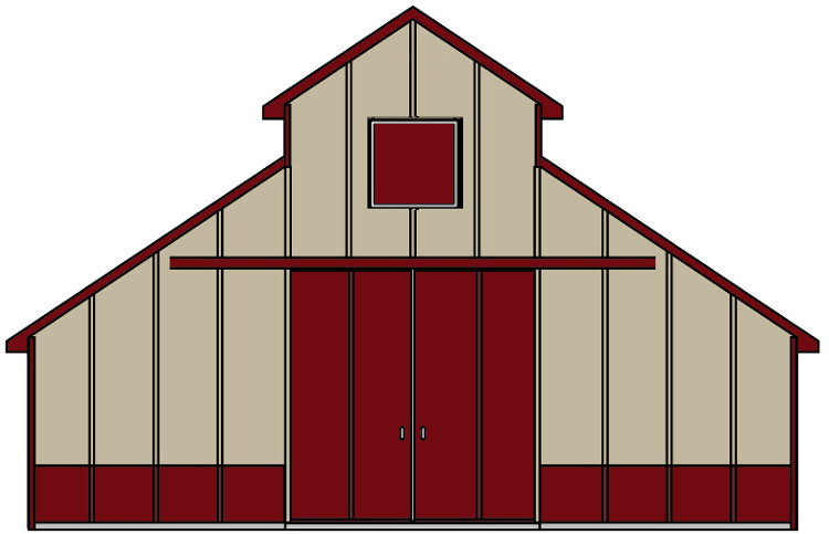 Kits building packages apb. Clipart barn pole barn