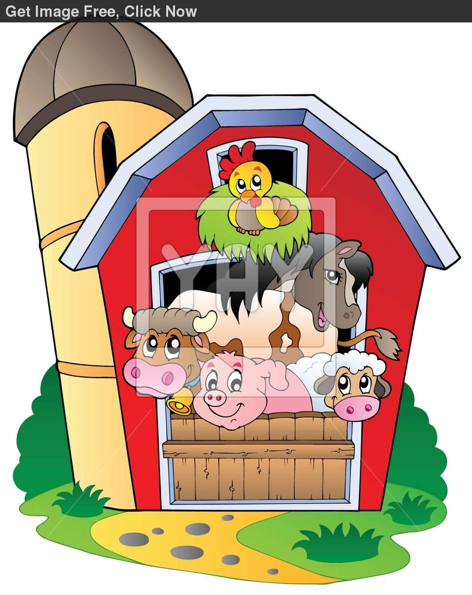 Clipart farm preschool. Free barn old macdonald