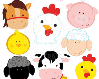 Farm etsy . Barn clipart printable
