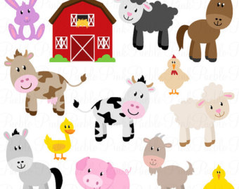 Barn clipart printable. Life in the farm