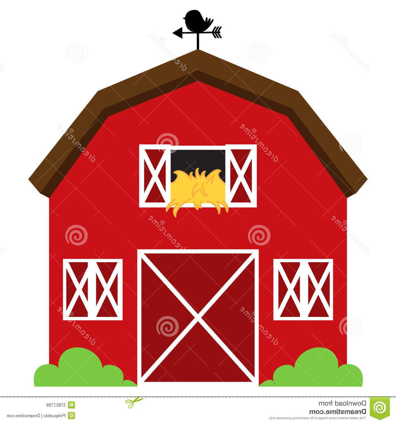 Barn clipart printable. Pencil and in color
