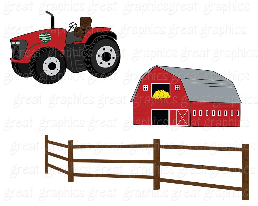 Clipart barn printable. Farm clip art panda