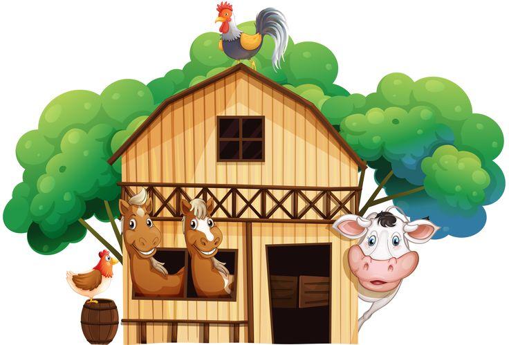 best clip art. Barn clipart ranch house