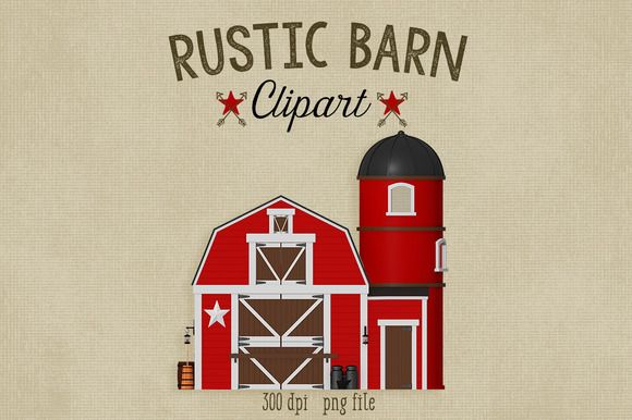 Check out on creative. Barn clipart rustic barn