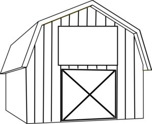 Barn clipart rustic barn. Outline jpg clipartix